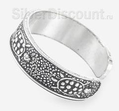 Безразмерное кольцо с черепахами для ног, для мизинца или для верхней фаланги пальцев рук