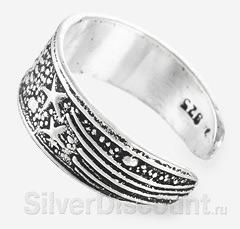 Безразмерное кольцо на ногу, на мизинец или на верхнюю фалангу пальца