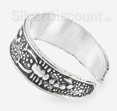 Серебряные скорпионы на безразмерном кольце