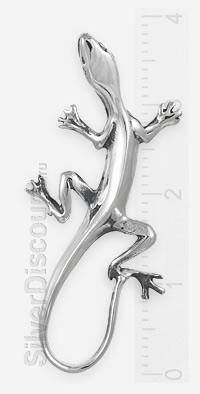 Ящерка или саламандра (решайте сами) из серебра