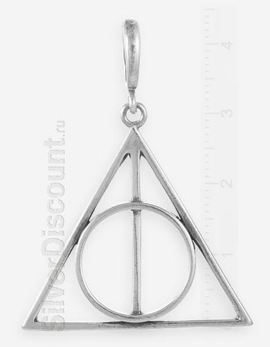 Кулон из серебра Дары смерти, Гарри Поттер
