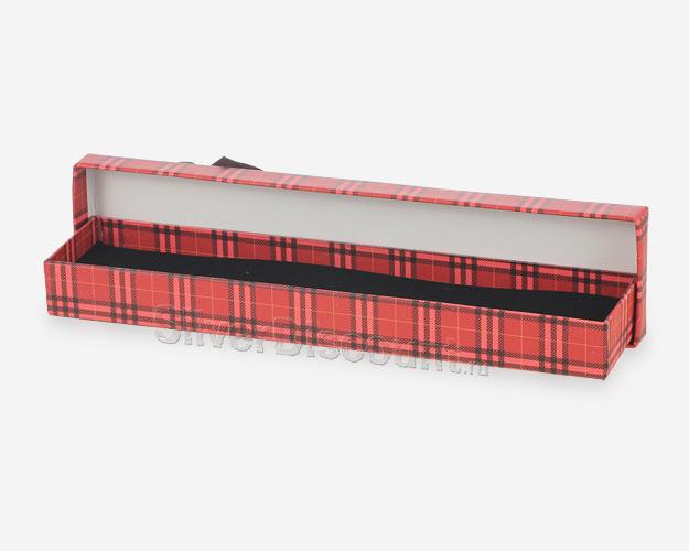 Подарочный футляр под цепочку или браслет в открытом виде