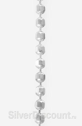 Плетение браслета перлина (пр-во: Россия) крупным планом