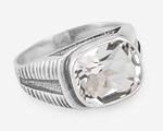 Перстень с прямоугольным камнем