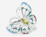 Кольца с бабочками